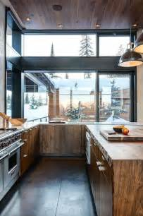 interior design mountain homes modern rustic wood cabin vacation home interior design