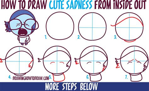 draw cute kawaii chibi sadness