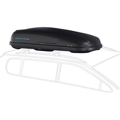 coffre de toit dual slide norauto bermude 4500 noir 450 l norauto fr