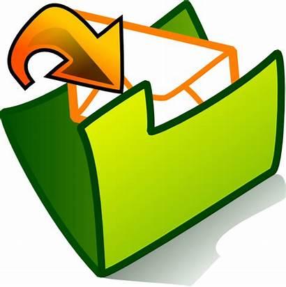 Inbox Clip Folder Clipart Vector Clker Cliparts
