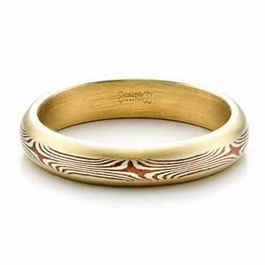 men39s custom mokume wedding band 1482 With mens custom wedding rings
