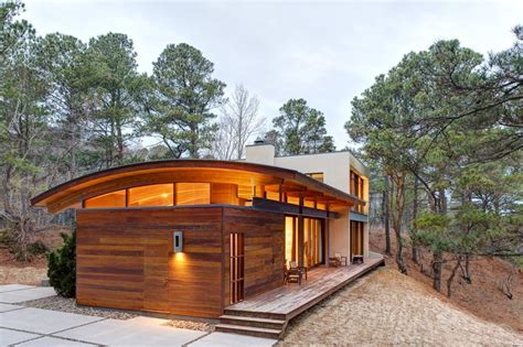 curved roof and ceiling exterior contemporary with