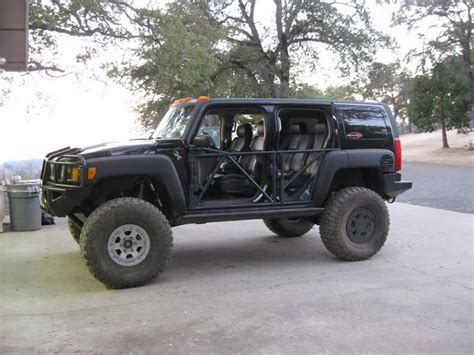 hummer  halftube doors xs hummer  lifted
