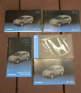 2012 Honda Crv Owners Manual Oem Free Shipping