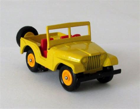 jeep matchbox vintage matchbox lesney standard jeep 72 near mint 1966