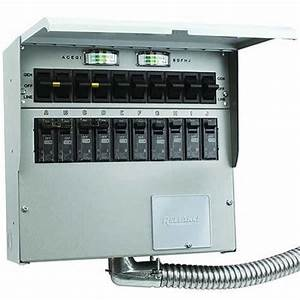 Reliance Controls A510c 10 Circuit 50 Amp Generator