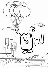 Wow Wubbzy Coloring Colouring Printable Cool Sheets Cartoon Coloriage Paper Pm Grandpa Freekidscoloringandcrafts sketch template