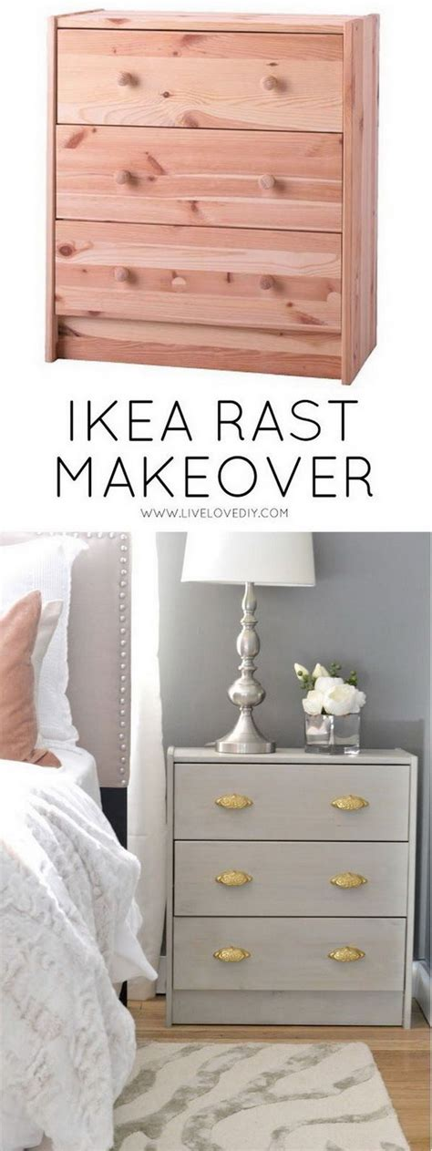 Ikea Nightstand Makeover by 25 Simple And Creative Ikea Rast Hacks