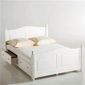 Lit 2 Personnes Avec Tiroir : lit adulte a tiroirs dans lit adulte achetez au meilleur prix avec ~ Teatrodelosmanantiales.com Idées de Décoration