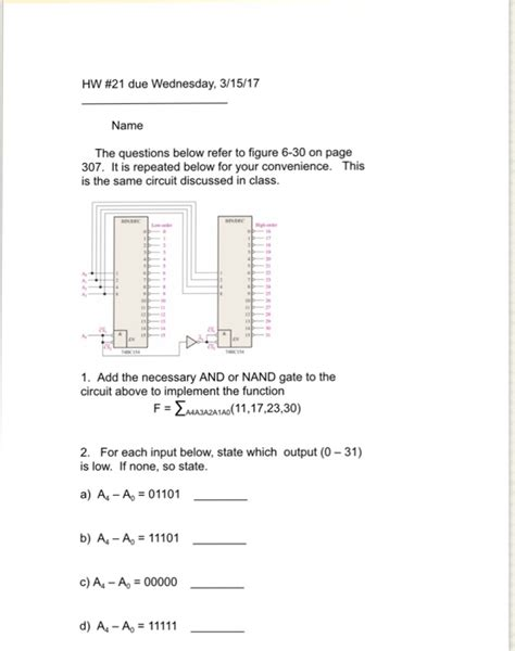 Solved Due Wednesday Name The Questions