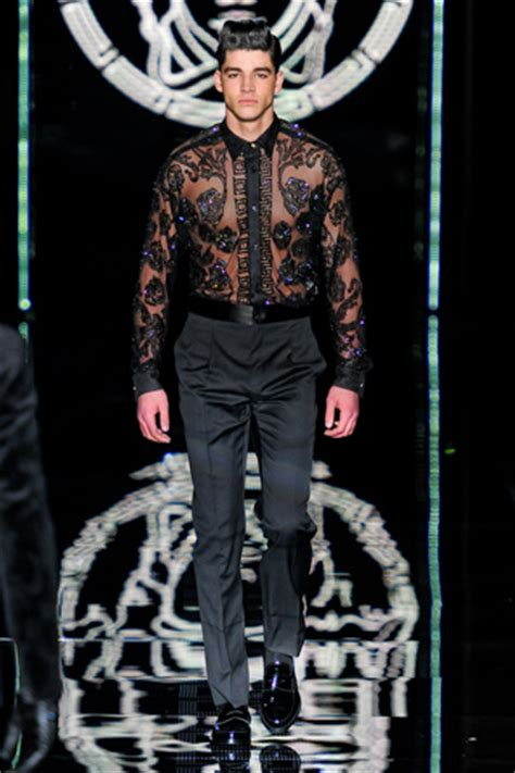 zeitgeistworld versace mens fallwinter  collection
