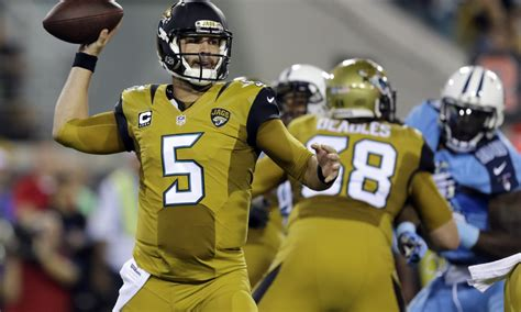 The Jags' Mustard Uniforms Are New Leader For Worst Nfl