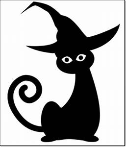 kids halloween pumpkin carving patterns With black cat templates for halloween