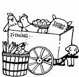 Pioneer Clipart Clip Wagon Tithing Lds Cliparts Cooking Stuff Mormon Library 20clipart Attribution Forget Link Don sketch template