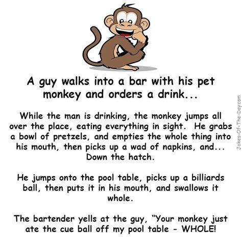 monkey   bar funny joke funny jokes bar jokes