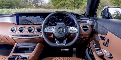 mercedes  class coupe interior infotainment carwow