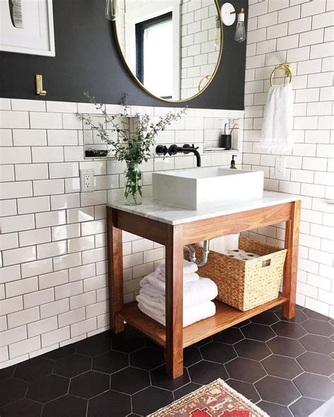 Aspyns Home Overhaul Perfection by The Bathroom Envy Is Settling In The Contrast Of The