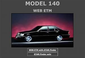 Mercedes Benz 140 W140 Service Repair Manuals