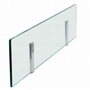 credence en verre pour ilot de cuisine With credence en verre transparent cuisine