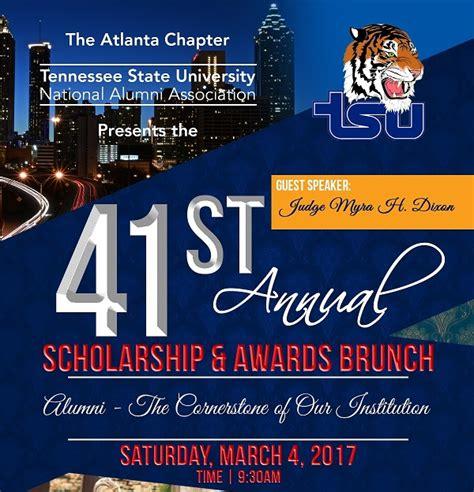 st annual scholarship awards brunch tennessee state university alumni
