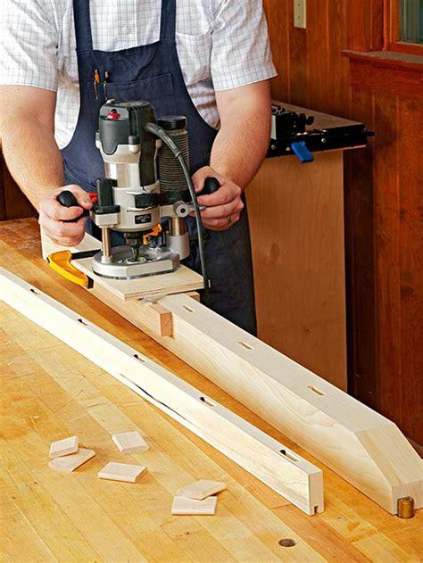 mortising jig woodworking plan  wood magazine