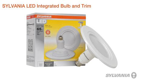 sylvania integrated bulb and trim product