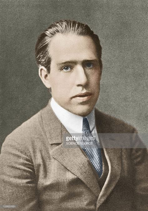 Niels Bohr Danish Physicist Bohr Won The Nobel Prize For