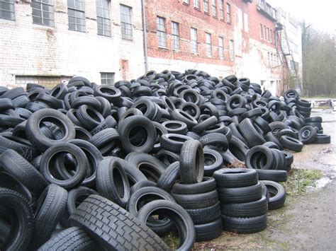 Millions Of Old Tires Spark Recycling Frenzy