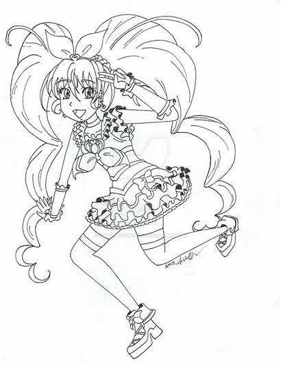 Coloring Ferngully Pages Precure Getdrawings Colouring Suite