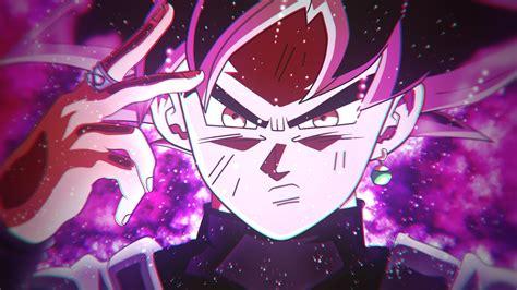 wallpaper goku black super saiyan rose  anime
