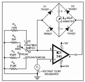 universal high resistance voltmeter basic electronics With dc voltmeters