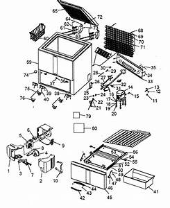 Kenmore Model 18313601300 Chest Freezer Genuine Parts