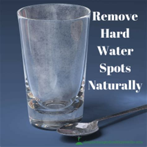 How To Remove Water Stains From Glass Shower - diy remove water spots from glass naturally