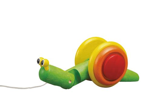 pull along snail wooden from plan toys another great item from kb learning center