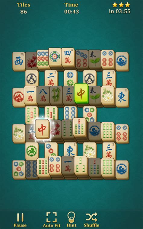 mahjong solitaire: classic shell