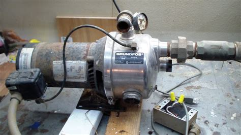 grundfos js hp stainless jet pump youtube