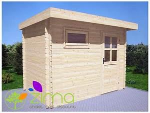 Abri En Bois : abris en bois massif modern toit plat ~ Edinachiropracticcenter.com Idées de Décoration