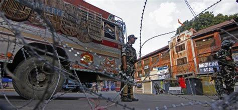 Kashmir in lockdown a military prison, children detained ...