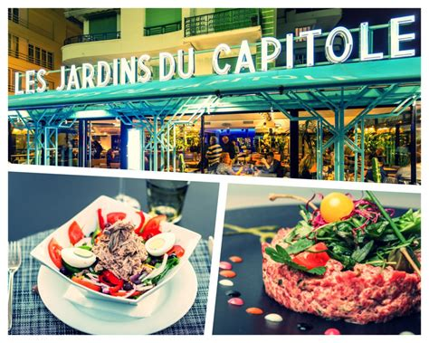 restaurant les jardins du capitole cuisine traditionnelle