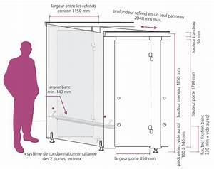 cabines sanitaires cabines double entree pour With porte d entrée alu avec equipement pmr salle de bain