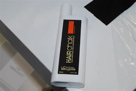 L'oreal Professional Hair Chalk Photos And Swatches From
