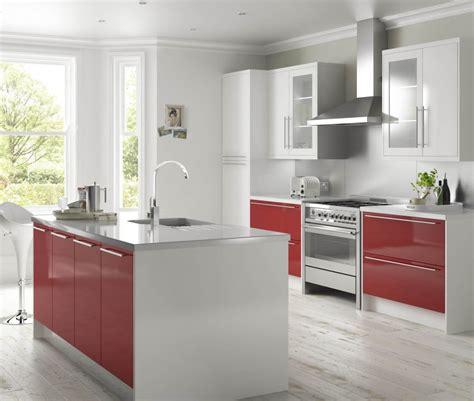 gloss kitchen ideas high gloss and white kitchen ideas