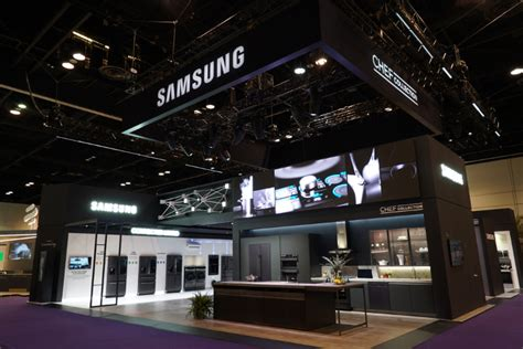 samsung  showcase  advanced built  appliances