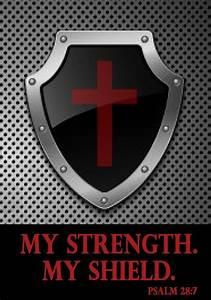 Jesus is my strength & my shield