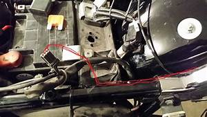 Stock Wire Routing Under The Rear Fender For A Street