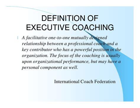 Executive Coachingfor The Seriously Curious