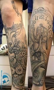 Tatouage Montre A Gousset Avant Bras : tatouage avant bras horloge cochese tattoo ~ Carolinahurricanesstore.com Idées de Décoration