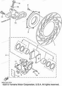 yamaha motorcycle parts 2002 v star 1100 classic With classic xvz13athc rear brake caliper diagram on piston caliper diagram