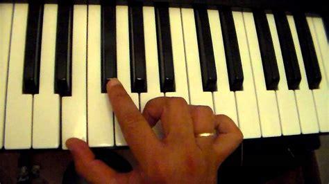 si鑒e piano escala e acorde mi menor tutorial aula de piano teclado