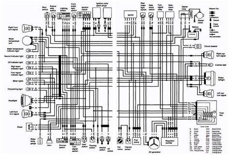 Wiring Schematic For Suzuki Intruder by Suzuki Vs750 Intruder Motorcycle 1988 1991 Complete